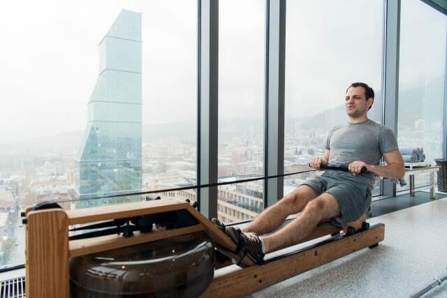 waterrower club rowing machine review