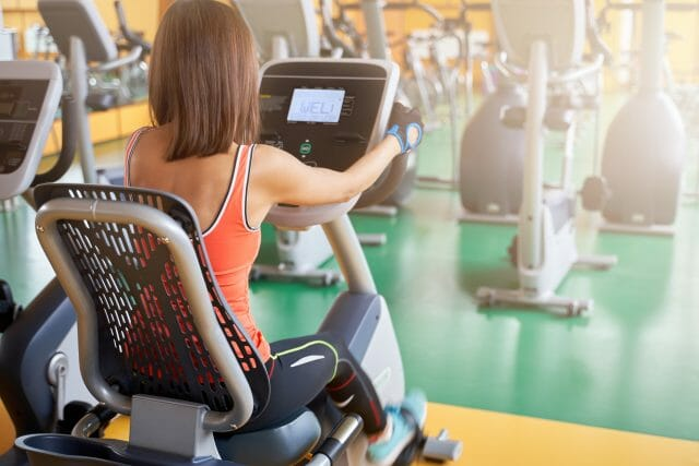 life fitness platinum club series recumbent lifecycle exercise bike review